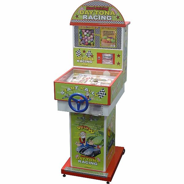 Daytona Racing - Flipper meccanico distributore con gioco