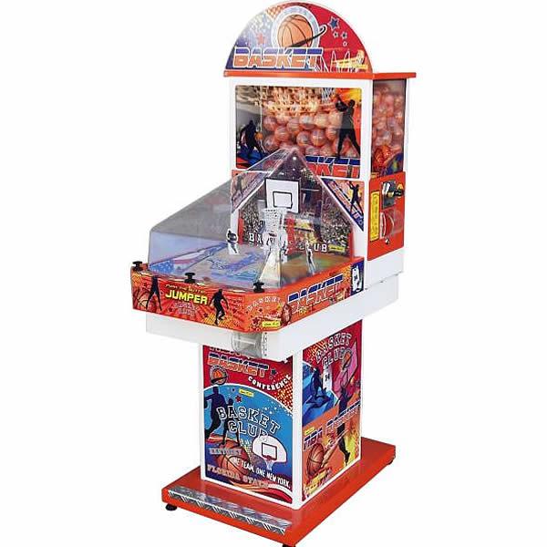 Maxy basket - Flipper meccanico distributore con gioco